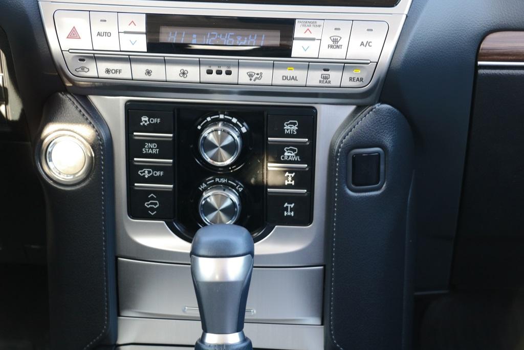 Toyota Land Cruiser Prado КПП фото
