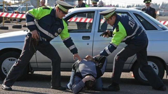 Полицейские устроили погоню за нетрезвым водителем вНижегородской области