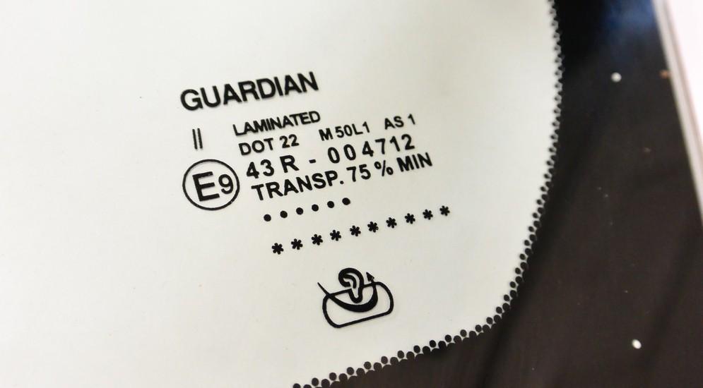 Правила чтения маркировки на стеклах автомобиля