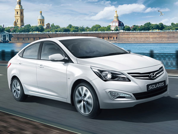 Hyundai Solaris фото