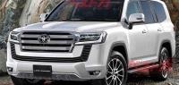 Стало известно, какими будут силовые агрегаты у нового Toyota Land Cruiser