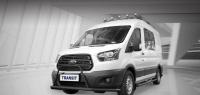 Российский Ford Transit приспособлен для охотников